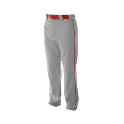 Youth Pro Style Open Bottom Baggy Cut Baseball Pants Thumbnail