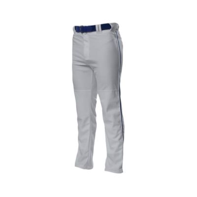 Pro Style Open Bottom Baggy Cut Baseball Pants Thumbnail
