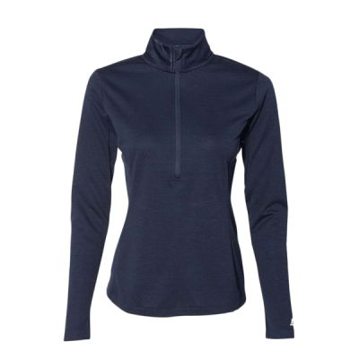 Women's Striated Quarter-Zip Pullover Thumbnail