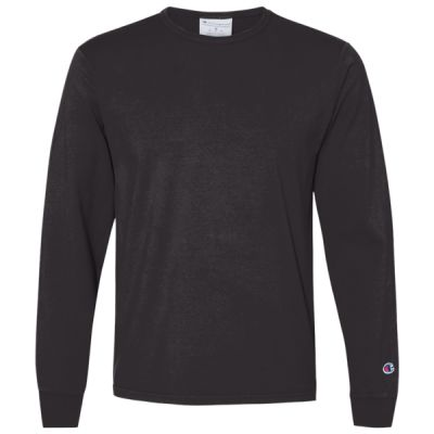 Garment Dyed Long Sleeve T-Shirt Thumbnail