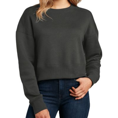 ® Women's Perfect Weight ® Fleece Cropped Crew Thumbnail