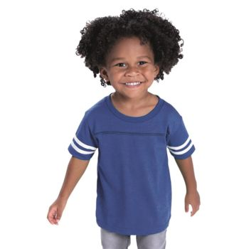Toddler Football Fine Jersey Tee Thumbnail