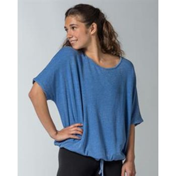 Angel Terry Slouch Tie Up Tee Thumbnail