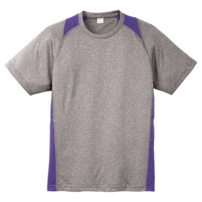 Heather Colorblock Performance Tee Thumbnail