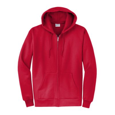 Core Fleece Full Zip Hooded Sweatshirt Thumbnail